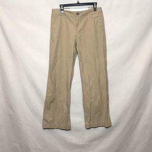 Gap wide leg Khakis